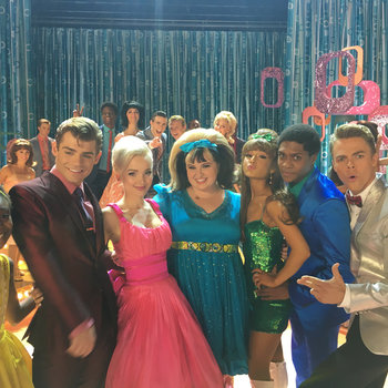 On Set with Hairspray Live!
