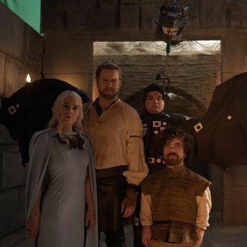 Behind the Scenes: Game of Thrones Sneak Peek