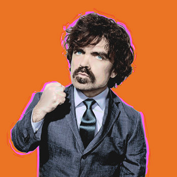 Peter Dinklage and Gwen Stefani Bumper Photos