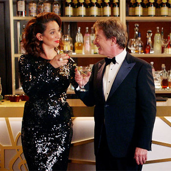 Maya Rudolph and Martin Short raise a toast to their new variety show premiering May 31!