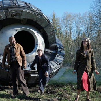 They're time-travelling to the past to save America's future. Preview Timeless.
