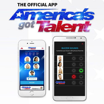Get the America's Got Talent app that makes YOU the judge!