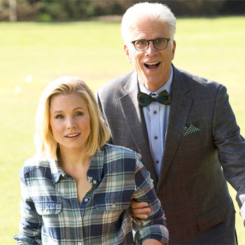 Preview the upcoming comedy starring Ted Danson and Kristen Bell.