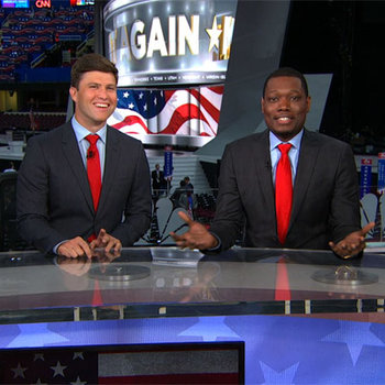 Watch Weekend Update's take live from the Republican National Convention.