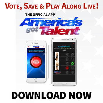 Vote during the Live Shows with the AGT app! Download now.
