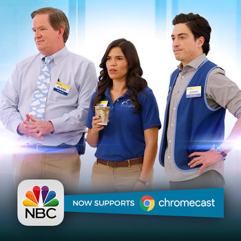 Binge on Superstore and other favorites with the all-new NBC App!