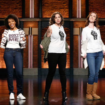 Late Night's Writers Can't Agree on the Women's March on Washington
