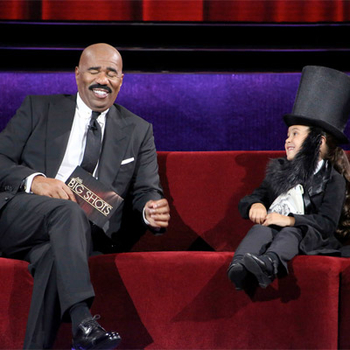 New Sunday 8/7c. Steve Harvey is back with amazingly talented kids. Watch now.
