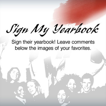Sign My Yearbook