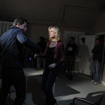 Behind The Scenes: vs Sarah
