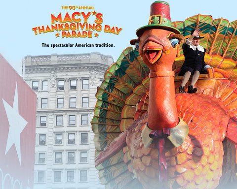 Macy's Thanksgiving Day Parade - Key Art