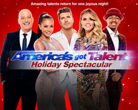 America's Got Talent Holiday Spectacular - Key Art
