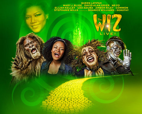 The Wiz Responsive Key Art Dynamic Lead Slide