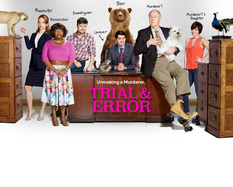 Trial and Error Upfront Key Art