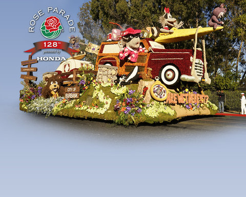 The Tournament of Roses Parade - Key Art