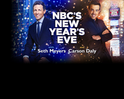 NBC New Year's Eve Responsive Key Art Slide