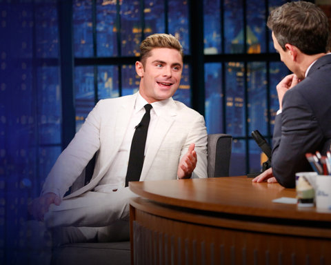 Late Night with Seth Meyers - NEW SITE - Zac Efron