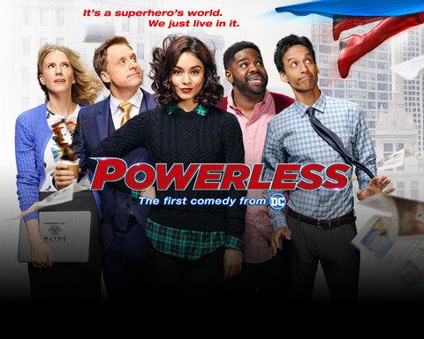 Powerless Homepage Key Art