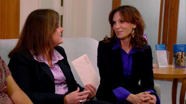 Marilu and the Alzheimer's Association