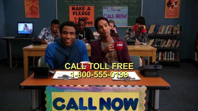 Troy and Abed's Pledge Drive