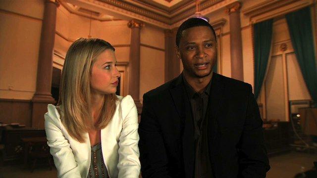 Ellen Woglom and David Ramsey Interview