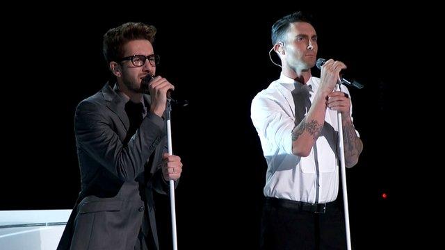 "Will Champlin and Adam Levine: ""Tiny Dancer"""