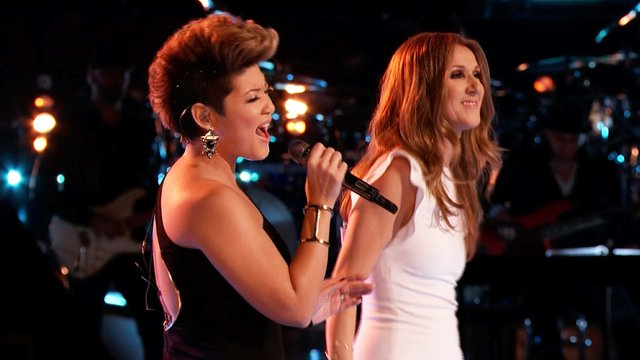 """Tessanne Chin and Celine Dion: """"Love Can Move Mountains"""""""