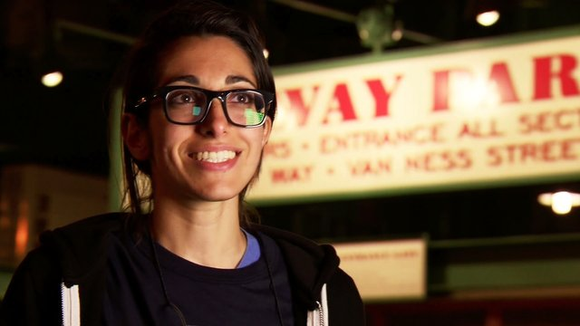 Michelle Chamuel Visits Home