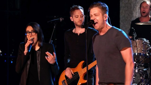 """Michelle Chamuel and OneRepublic: """"Counting Stars"""""""