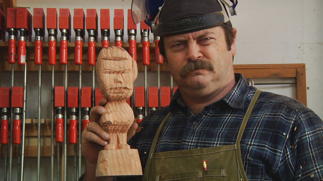 Nick Offerman on How to Build a Bobblehead