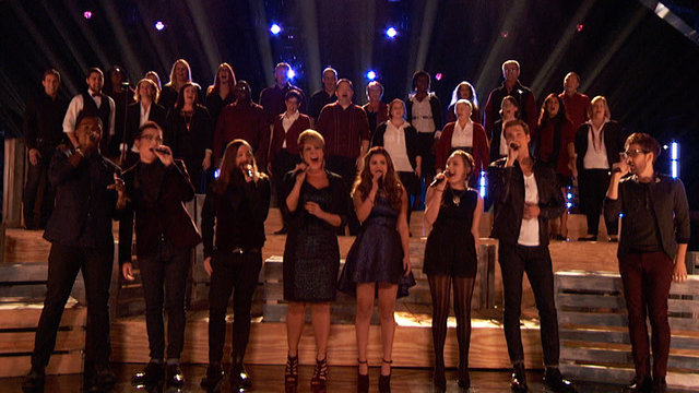 The Starbucks Chorus at The Voice