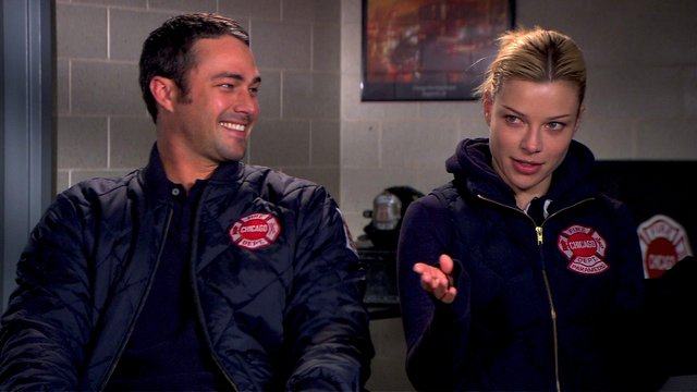 Holiday Interviews: Taylor Kinney and Lauren German
