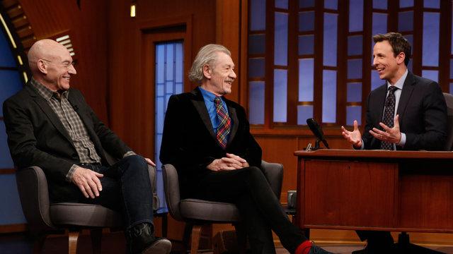 Ian McKellen and Patrick Stewart Interview