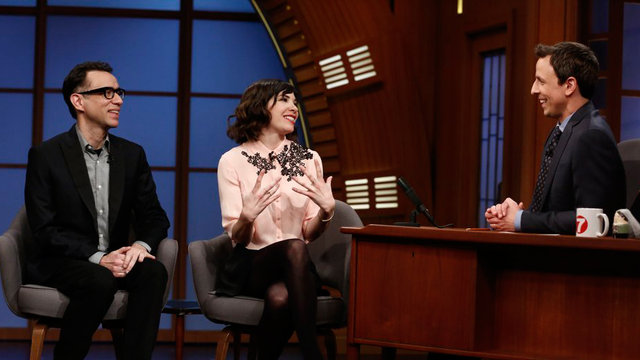 Carrie Brownstein and Fred Armisen Interview