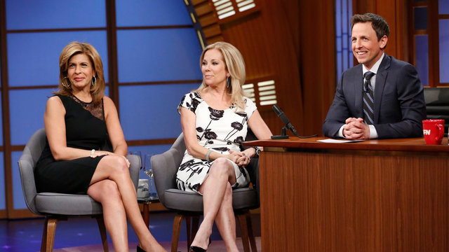 Kathie Lee Gifford and Hoda Kotb Interview