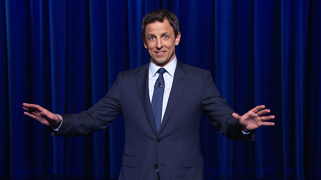 The Late Night with Seth Meyers Monologue from Monday, April 7
