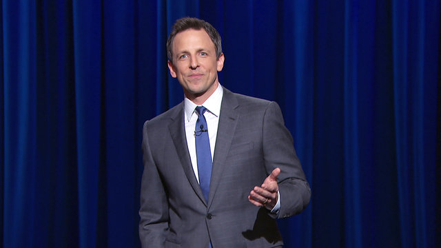 The Late Night with Seth Meyers Monologue from Thursday, April 10