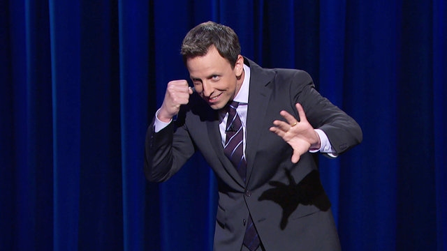 The Late Night with Seth Meyers Monologue from Tuesday, April 22