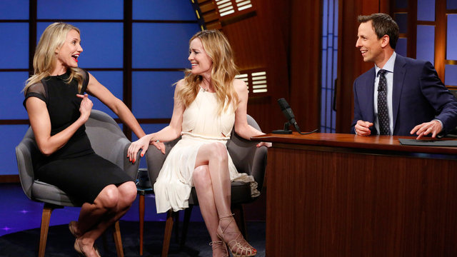 Cameron Diaz and Leslie Mann Interview