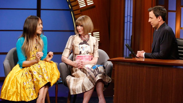 Sarah Jessica Parker and Anna Wintour Interview