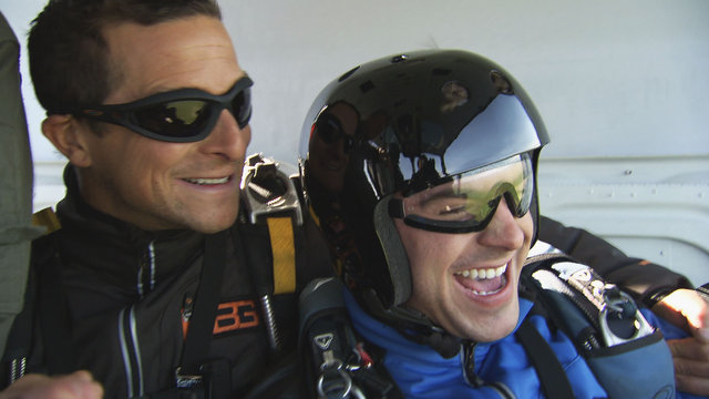 Freefalling with Zac Efron