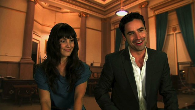 Fan Q&A with Carly Pope and Jesse Bradford
