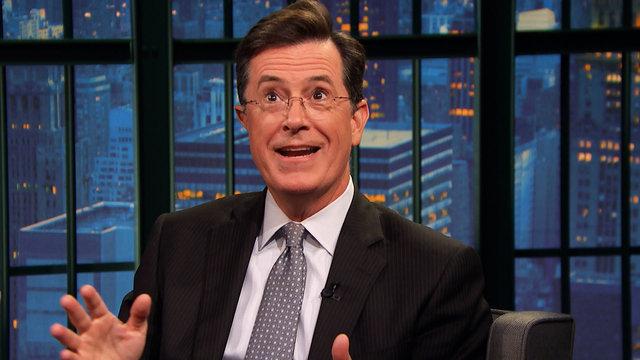 """Stephen Colbert's """"Peak Geek"""" Moment"""
