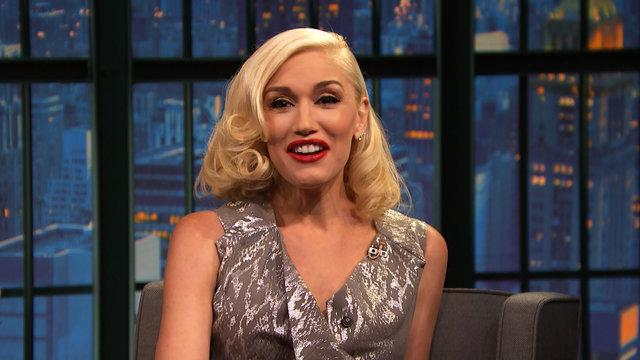 Gwen Stefani Explains Her Colbert Report Blunder