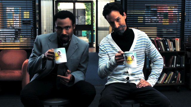 Evil Troy and Abed In the Morning