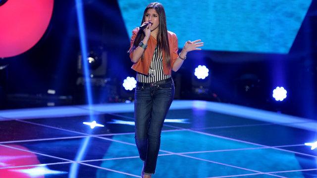 """Kayla Nevarez's Blind Audition: """"American Boy"""""""
