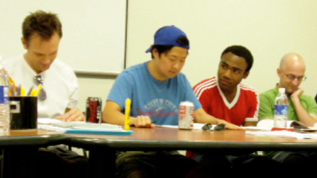 Hanging with the Cast: Table Read #1