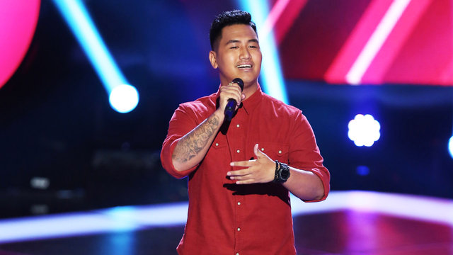 """JR Aquino's Blind Audition: """"Just the Way You Are"""""""