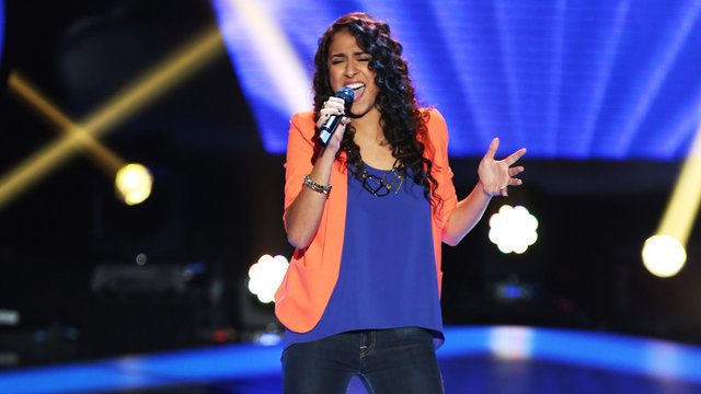 """Sylvia Yacoub's Blind Audition: """"Only Girl in the World"""""""
