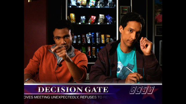 Troy and Abed Discuss the Candidates